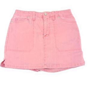 Gloria Vanderbilt Red Jean Skort Size 6